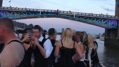 House Music, Swastikas, and Hand Jobs: I Went to a Fetish Boat Party in the Heart of London
