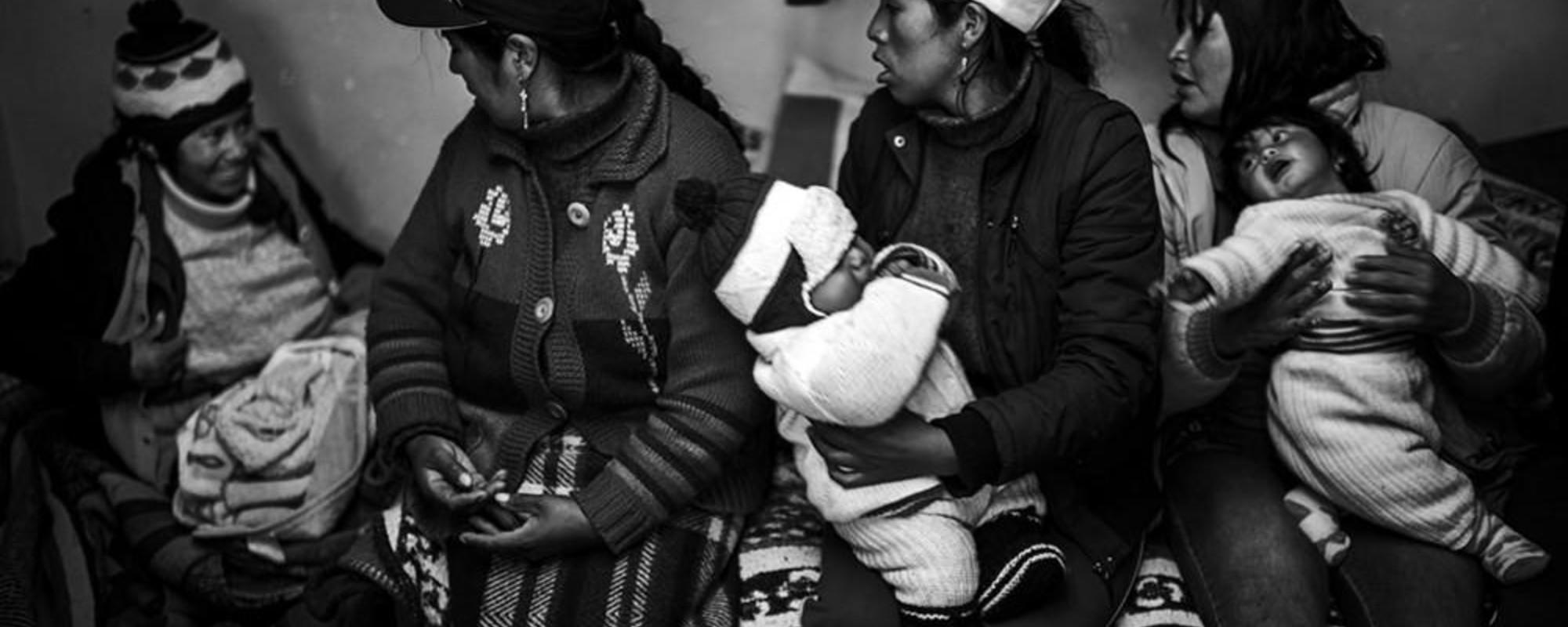 Las mujeres de las minas ilegales de oro de Perú