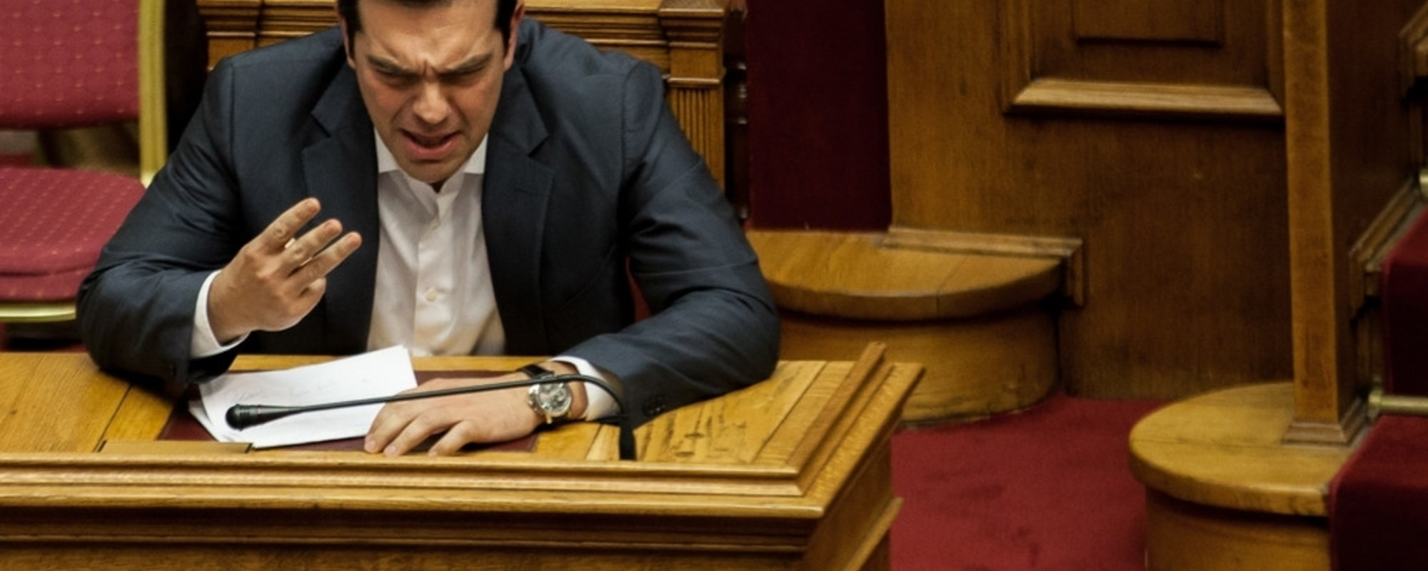 I Spent An Extremely Stressful Night in the Greek Parliament