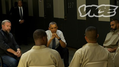 President Obama Heads to Prison in Pursuit of Criminal Justice Reform
