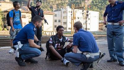 Ich bin mit Flüchtlingen von Italien nach Deutschland gereist