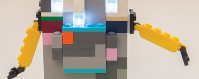 Ilumina as tuas criações de Legos