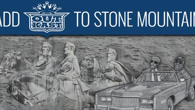 It's Time to Balance Out Stone Mountain's Confederate Monument with Carvings of Outkast