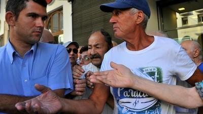 De Grieken worden letterlijk gestoord van alle onrust