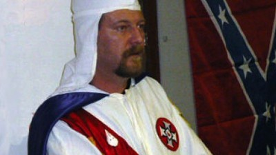Ku Klux Klown: The Racist Behind the Pro-Confederate Flag Demonstration Is Hated Even by Other Klansmen