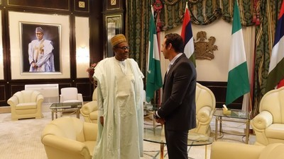 Le président du Nigéria interviewé par VICE News