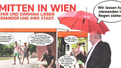 Fragen, die die Foto-Lovestory der Wiener SPÖ aufwirft