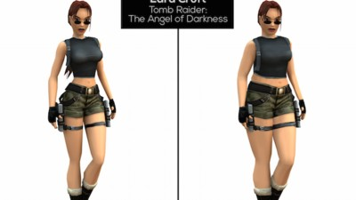 Lara Croft Gets a Realistic Makeover from Eating Disorder Support Group