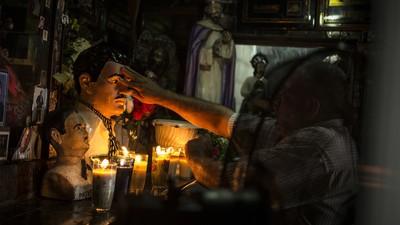 Los devotos del Chapo en Sinaloa
