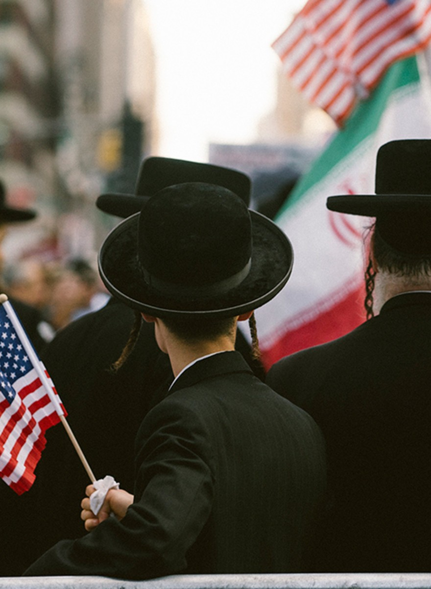 Scenes from Wednesday's 'Stop Iran' Rally in Times Square