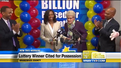 $188 Million Lottery Winner Marie Holmes Was Charged with Pot Possession