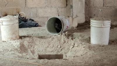 Een kijkje in de ontsnappingstunnel van El Chapo