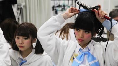 Japanische Schulmädchen zu verkaufen