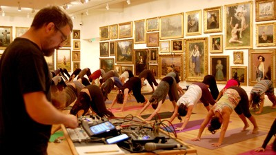 Noise Yoga Is a Thing—and It's Actually Pretty Sick