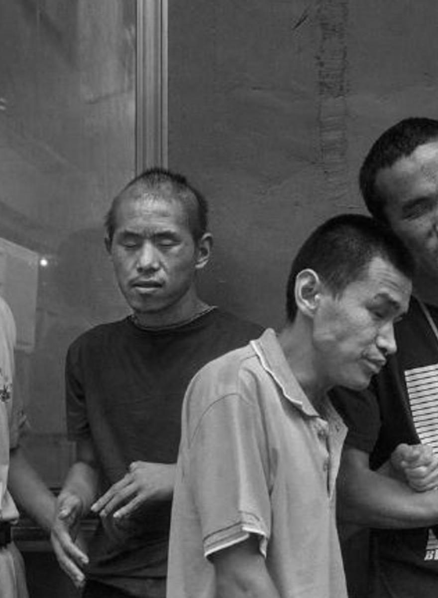 Avec les enfants aveugles des campagnes chinoises