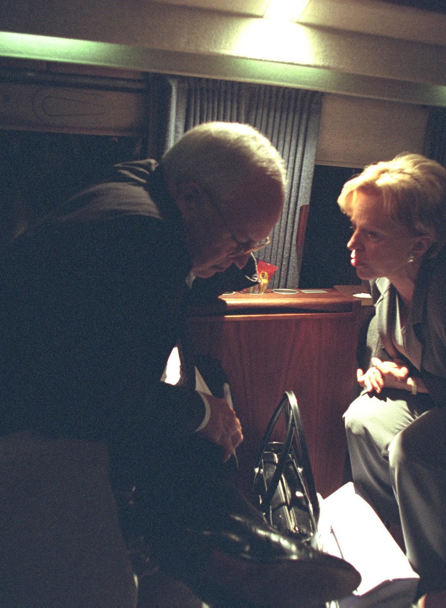 Revisiting the National Archives' Photos of George W. Bush and Dick Cheney on 9/11