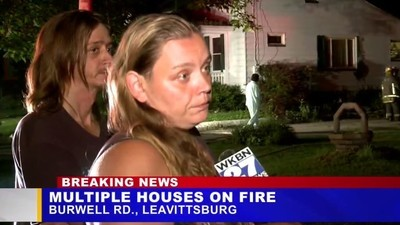 Did This Woman Just Solve an Arson on Live TV?