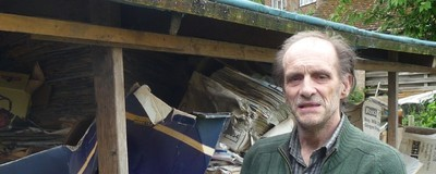 Digging Through the Bungalow of One of the World's Most Notorious Hoarders
