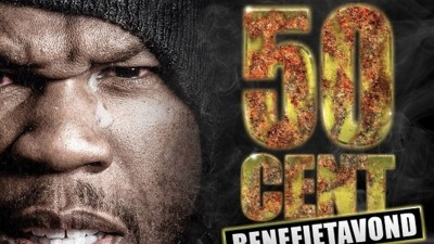 Er komt een Nederlandse benefietavond voor 50 Cent