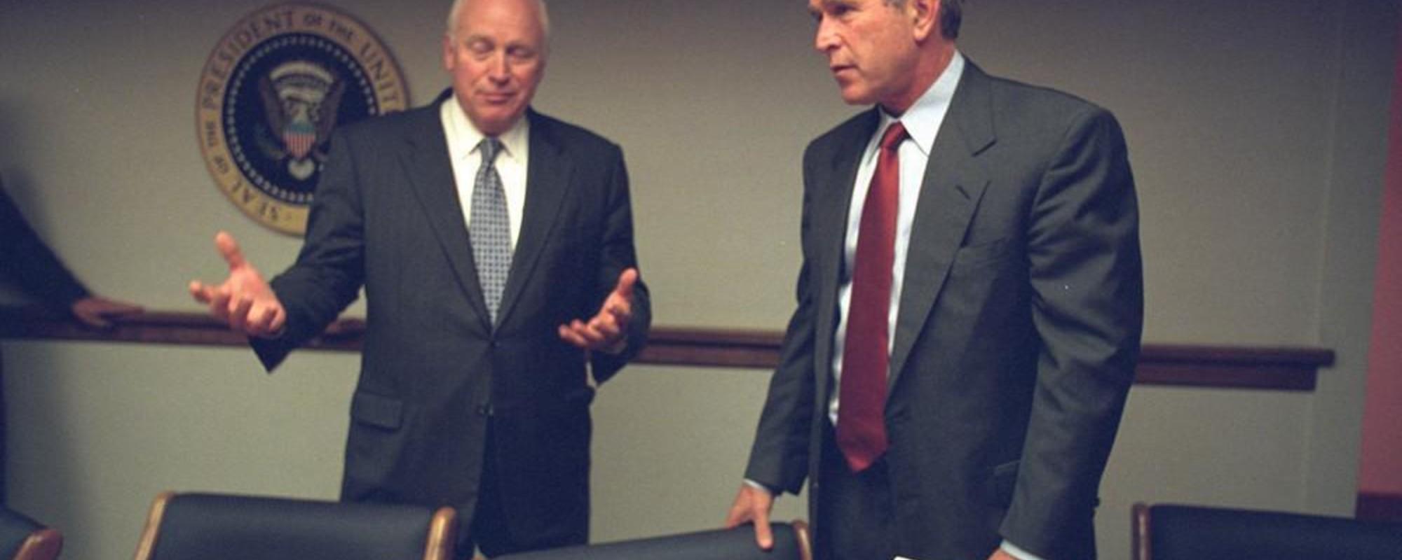 Φωτογραφίες από τον Λευκό Οίκο την 11η Σεπτεμβρίου 2001