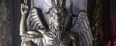 Inside the Satanic Temple's Secret Baphomet Monument Unveiling