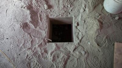 Dentro del túnel de escape de El Chapo