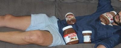 Comi Só Nutella por Uma Semana