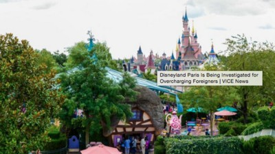 Disneyland Paris Is Being Investigated for Overcharging Foreigners