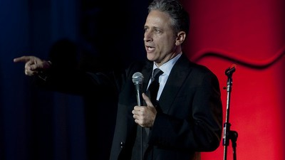 Jon Stewart Did a Surprise Stand-Up Set at the Comedy Cellar Last Night