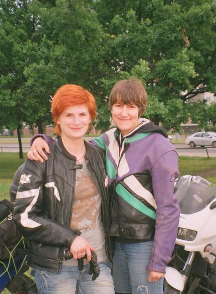 Rodando com o Único Clube de Motociclistas Gays da Rússia