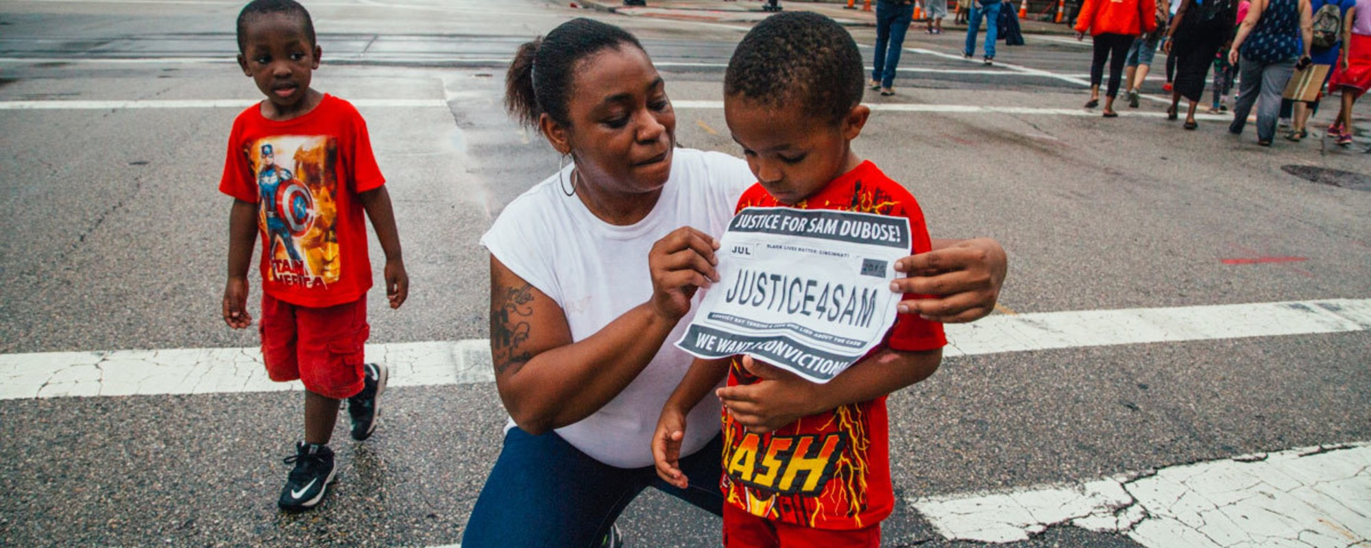 Scenes from Cincinnati After the Cop Who Killed Samuel Dubose Got Indicted for Murder