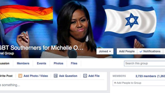 How I Infiltrated a White Pride Facebook Group and Turned It into 'LGBT Southerners for Michelle Obama'