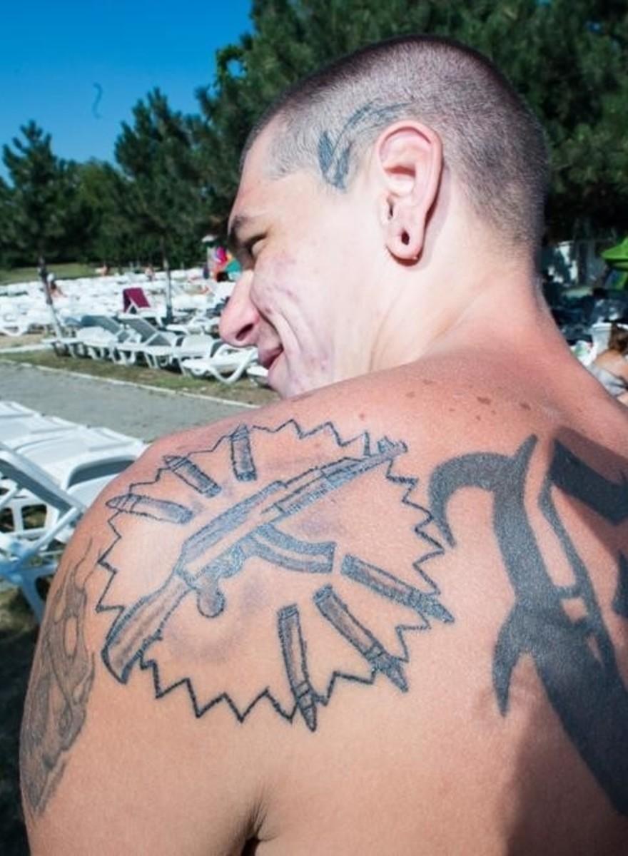 Tatuajes vistos en piscinas públicas de Rumanía