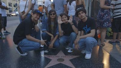 La prima volta a Hollywood dei fratelli di 'Wolfpack'