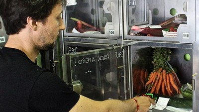 This Vegetable Vending Machine Could Save France's Bankrupt Farmers