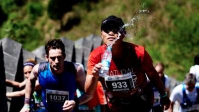 Inside the Great Wall of China Marathon