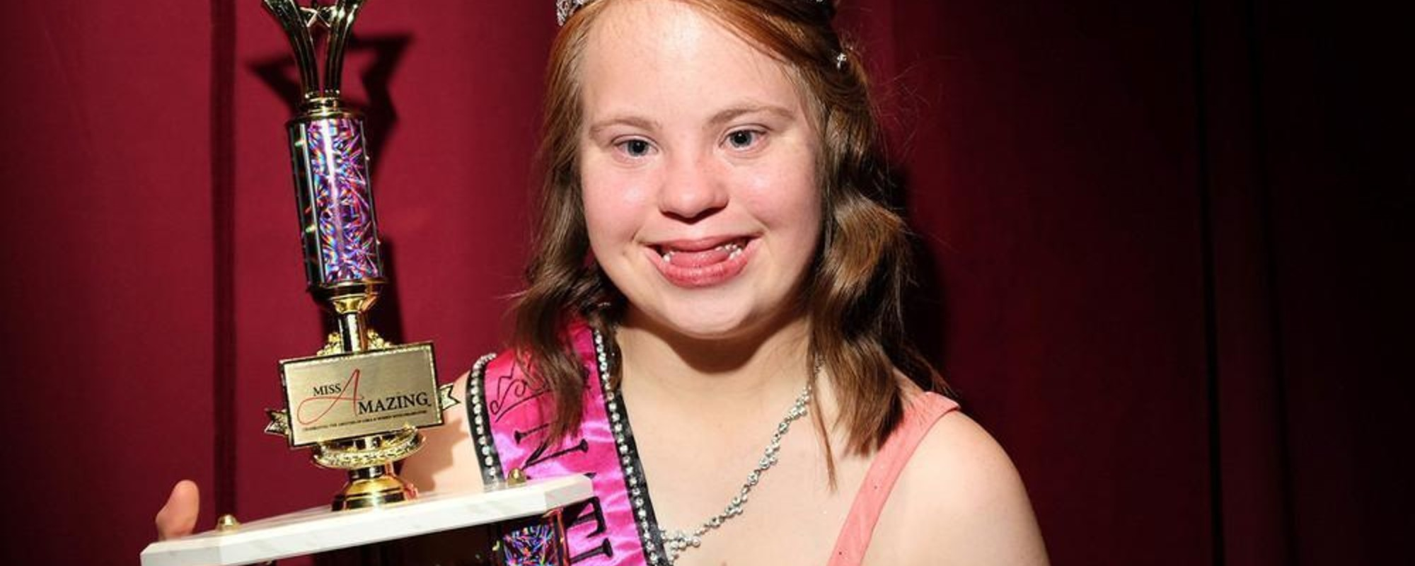 Fotos de Miss Amazing, el concurso de talentos de los Special Olympics