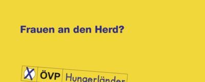 Eine Wiener ÖVP-Politikerin redet am Herd über Feminismus