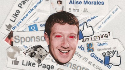 Mark Zuckerburg, Conceptual Art Terrorist, Is the Subject of New Art Project 'The Data Drive'
