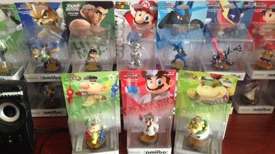 How I, a Grown Man, Became Addicted to Nintendo's Amiibo Figures