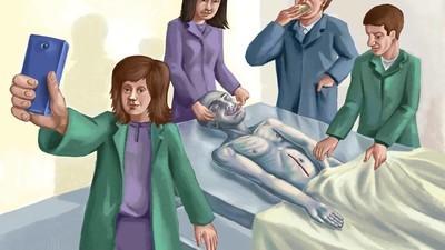 Am vorbit cu studenții la Medicină despre moarte și cadavre
