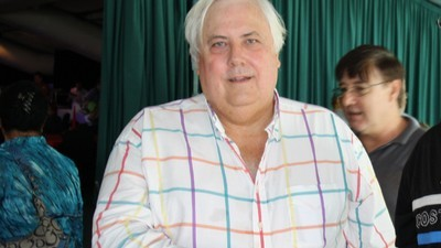 Clive Palmer Is Actually Headlining a Poetry Festival
