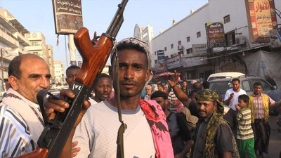 De belegering van Aden