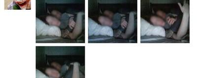 Ein Hacker hat einer Frau Fotos geschickt, die er mit ihrer eigenen Webcam gemacht hat