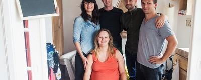Estos cinco amigos van a tener un bebé