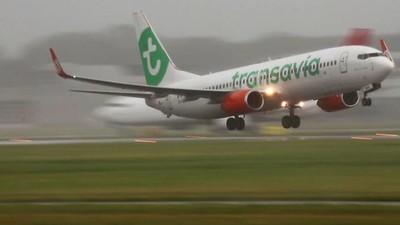 Transavia-passagiers die veilig landden zijn pislink