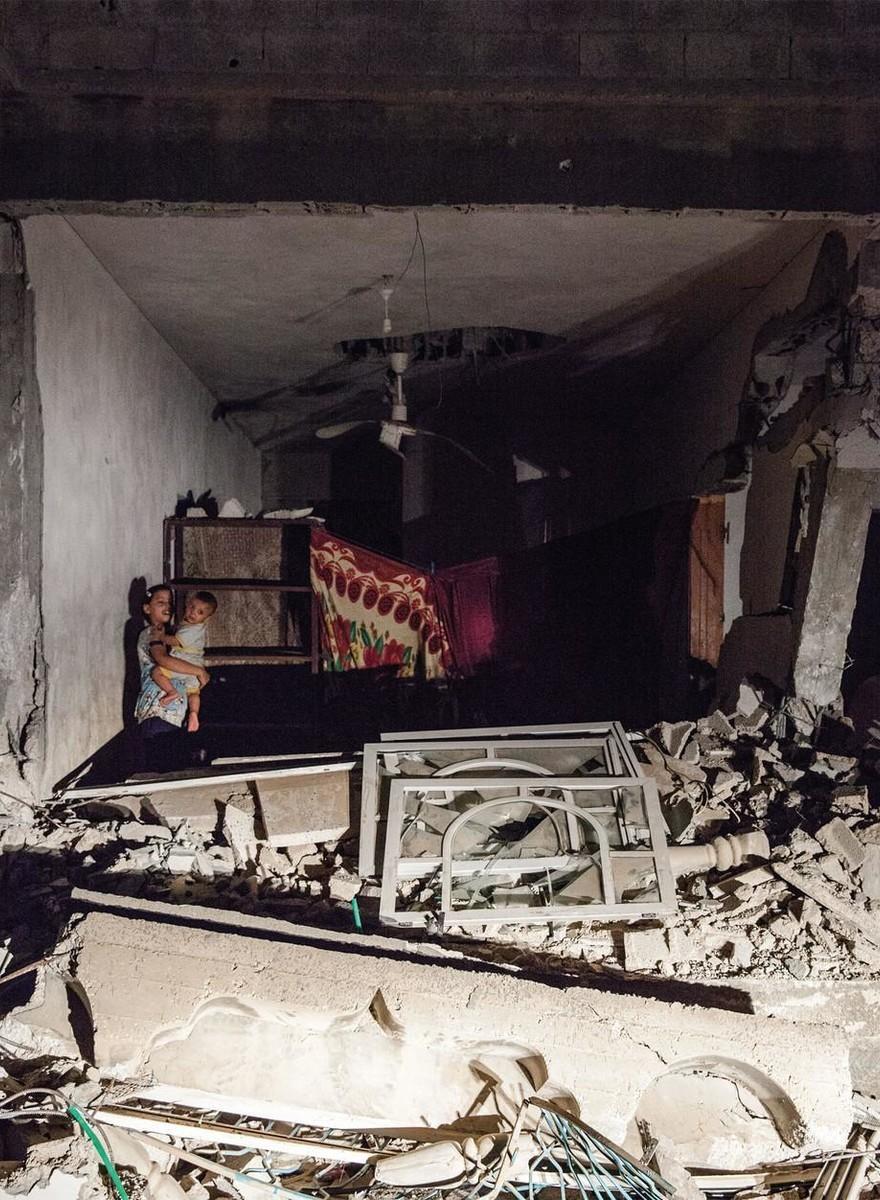 Especial de fotografía: Habitaciones de Al Zana, Gaza