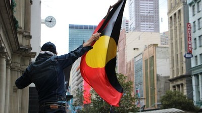 Aboriginal Activists Marked One Year Since the Death of Ms Dhu in Custody