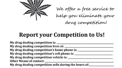 A Flier Asking Kentucky Drug Dealers to Rat on Other Drug Dealers Actually Lead to an Arrest