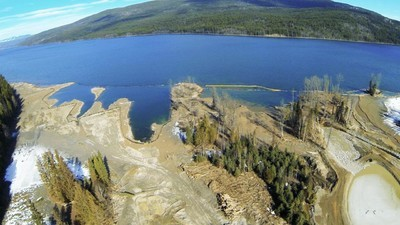 A 'Massive Deposit' of Mining Waste from British Columbia's Mount Polley Mine Spill Is Still Lingering